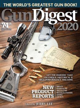 Gun Digest 2020 cover