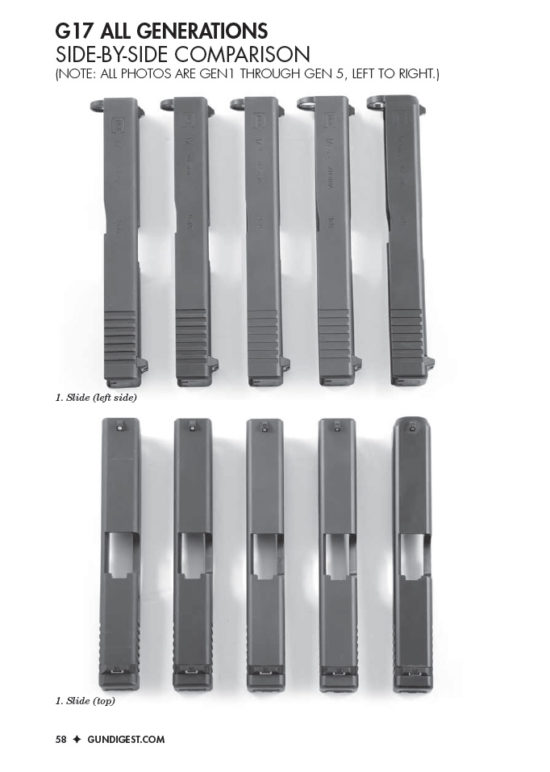 Glock Magazine Side-by-Side Comparisons
