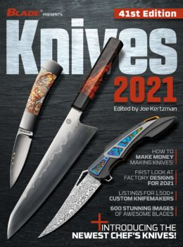 Knives 2021 annual book BLADE magazine