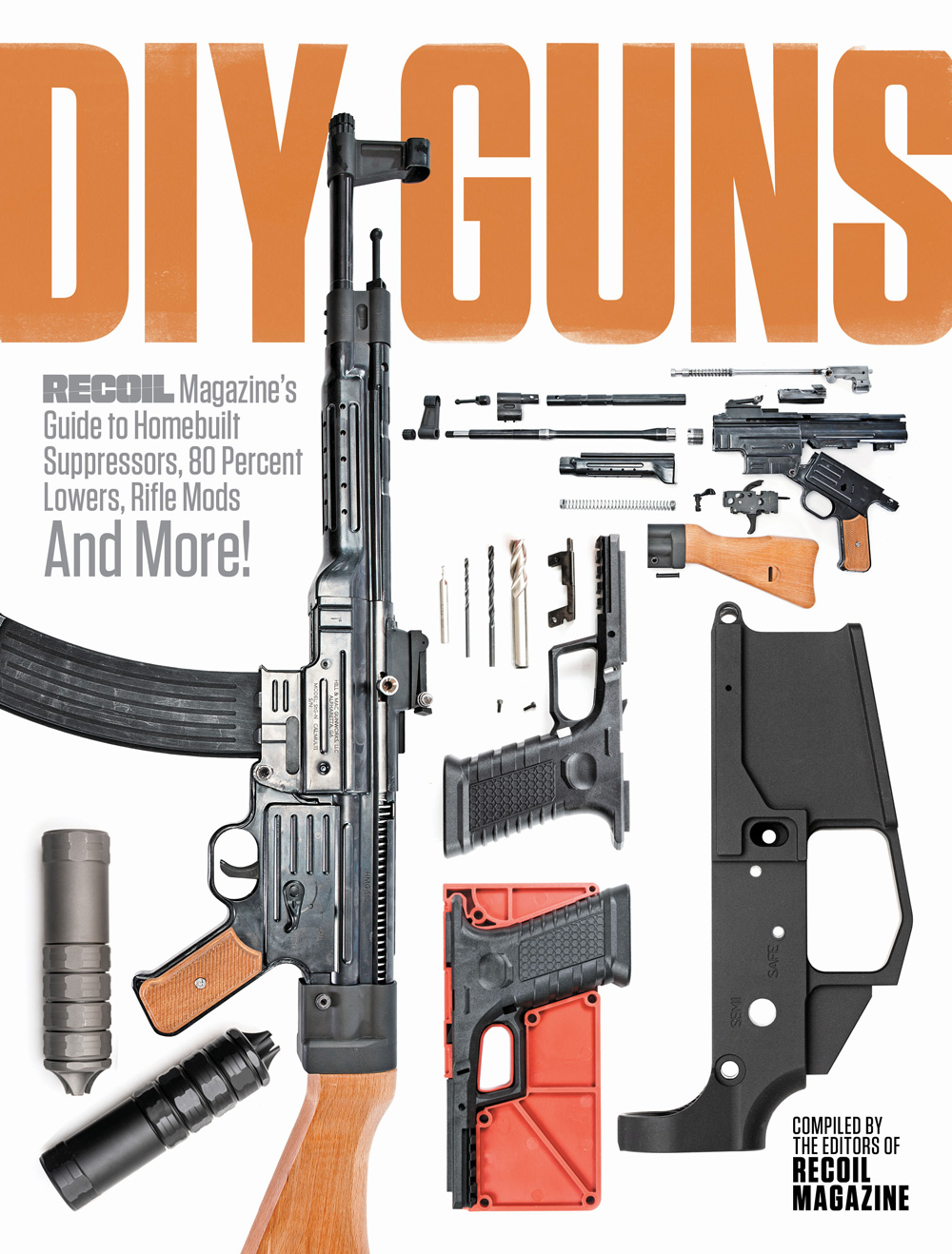 DIY Guns RECOIL book